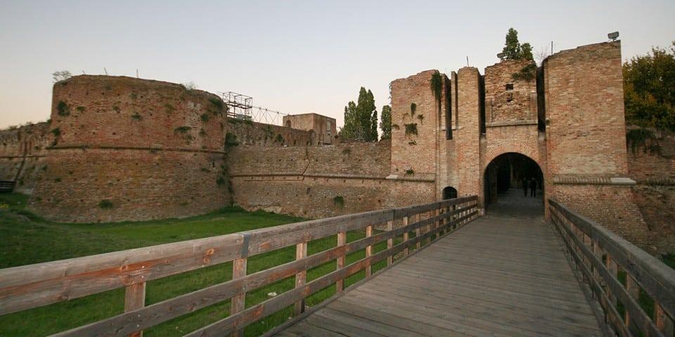 Крепость Rocca Brancaleone