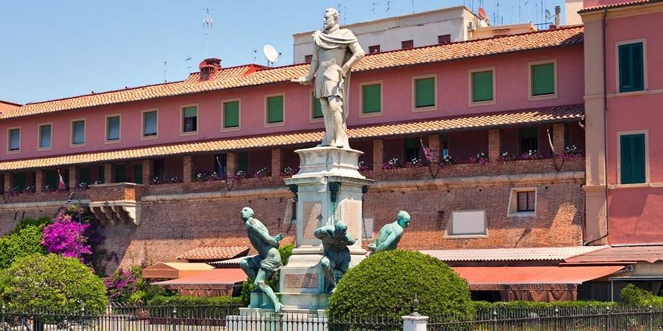 Памятник четырем маврам