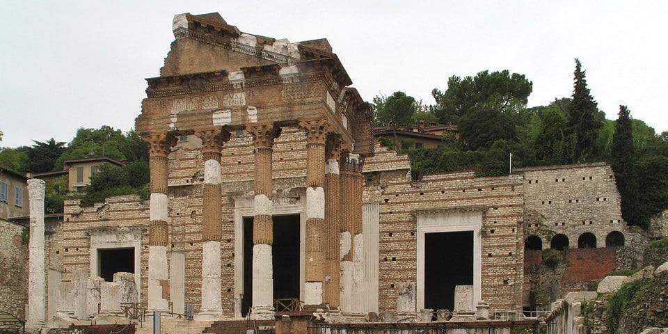 Римский Форум в городе Брешия