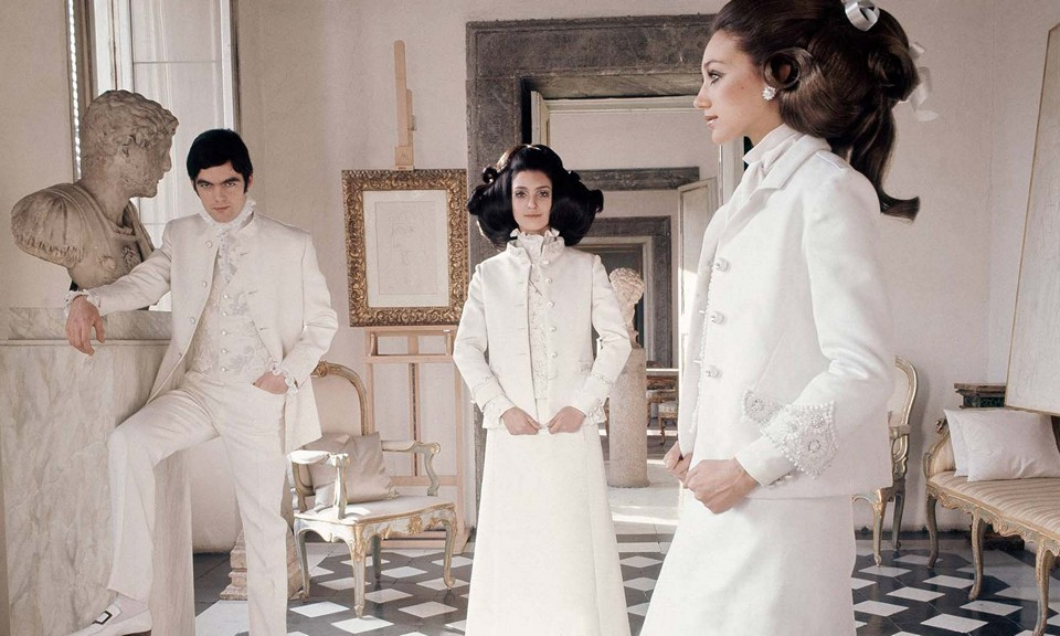 Белая коллекция Валентино
