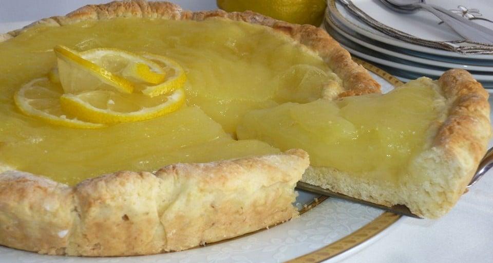 Лимонная кростата