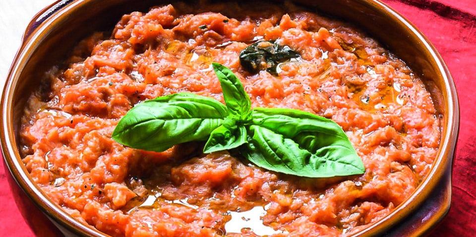 традиционный томатный суп во Флоренции – pappa al pomodoro