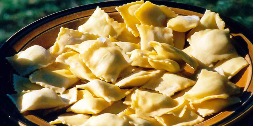 tortelli di Mugello – фаршированная паста по-флорентийски