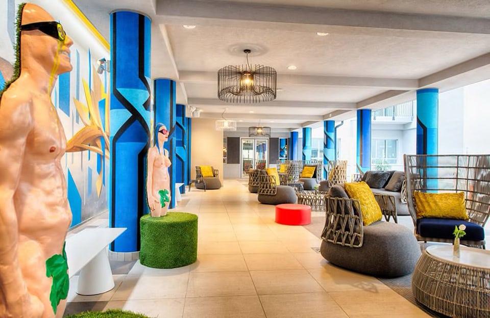 Дизайнерский отель в центре Милана 4 звезды NYX Milan