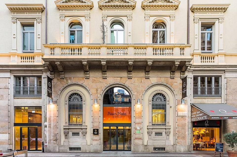 Отель 4 звезды в центре Милана рядом с Дуомо Room Mate Giulia