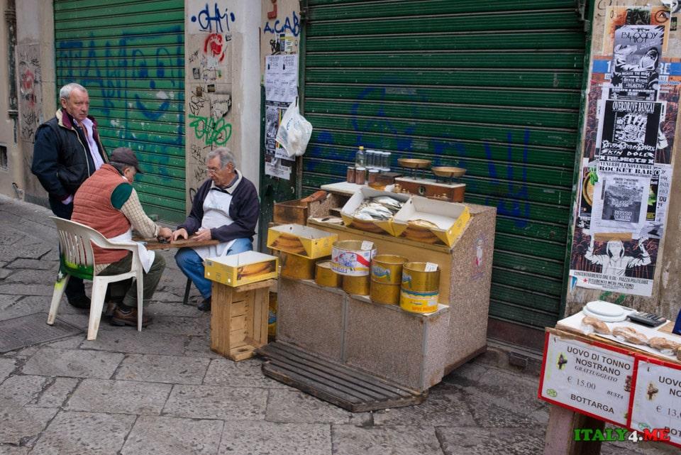 Жители города Палермо