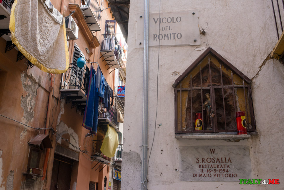 Святая Розалия – покровительница Палермо