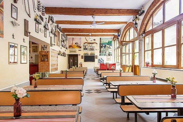 Хостел во Флоренции Hostel Archi Rossi c хорошими завтраками