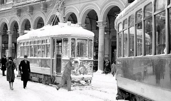 снегопад в Риме 30 декабря 1939 года