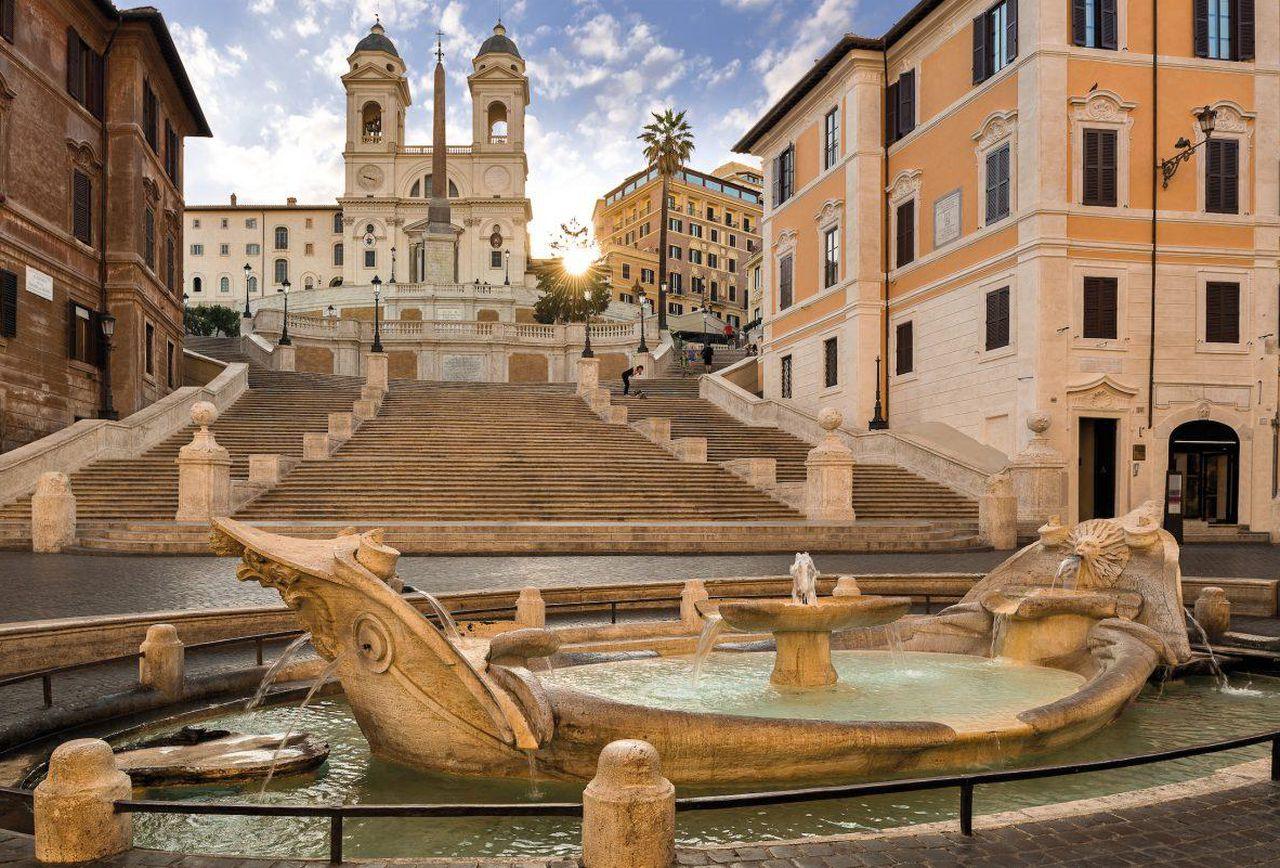 Отель Hassler 5 звезд в центре Рима
