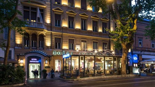 Отель на улице Via Veneto в Риме