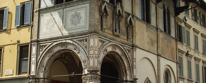 Лоджия-дель-Бигалло во Флоренции