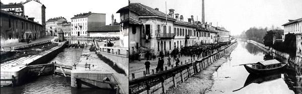 Каналы Навильи в начале 20 века исторический снимок
