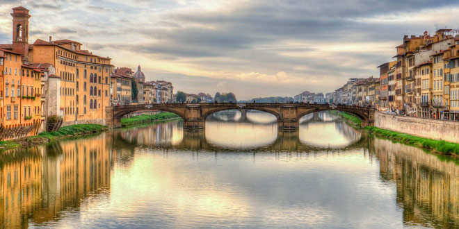 Мост Санта-Тринита во Флоренции