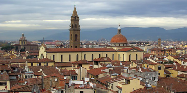 Церковь Санто-Спирито – символ эпохи Раннего Возрождения