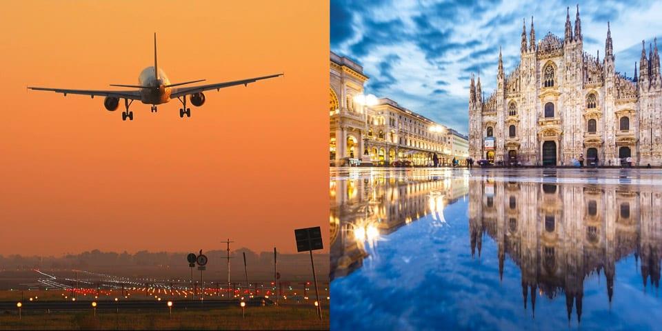 Как добраться до Милана из Москвы и других городов на самолте поезде автобусе авто