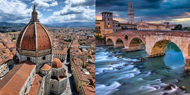 Как добраться из Флоренции в Верону
