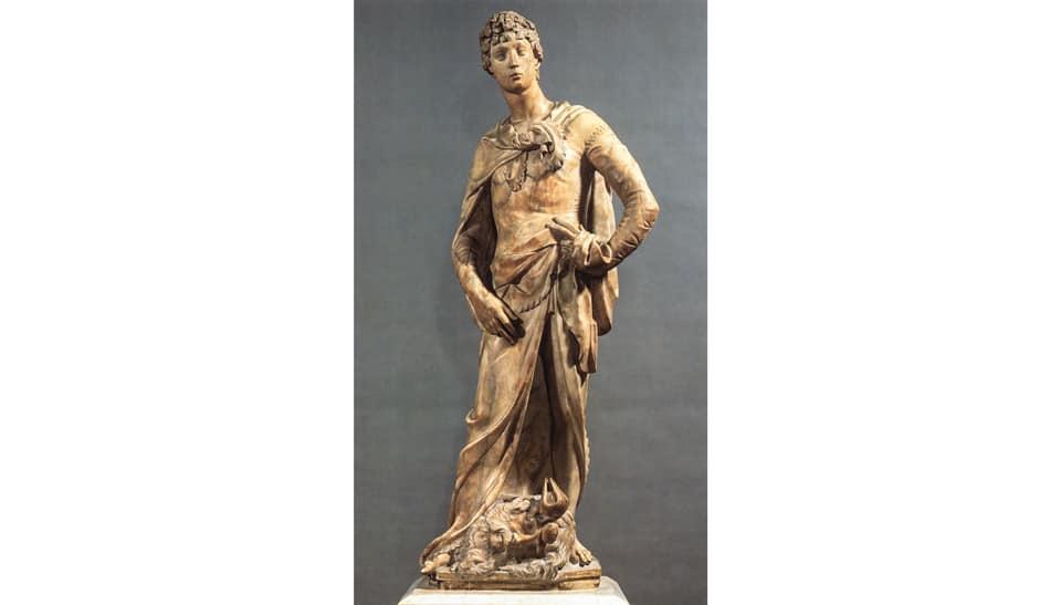 Донателло Статуя Давида из мрамора