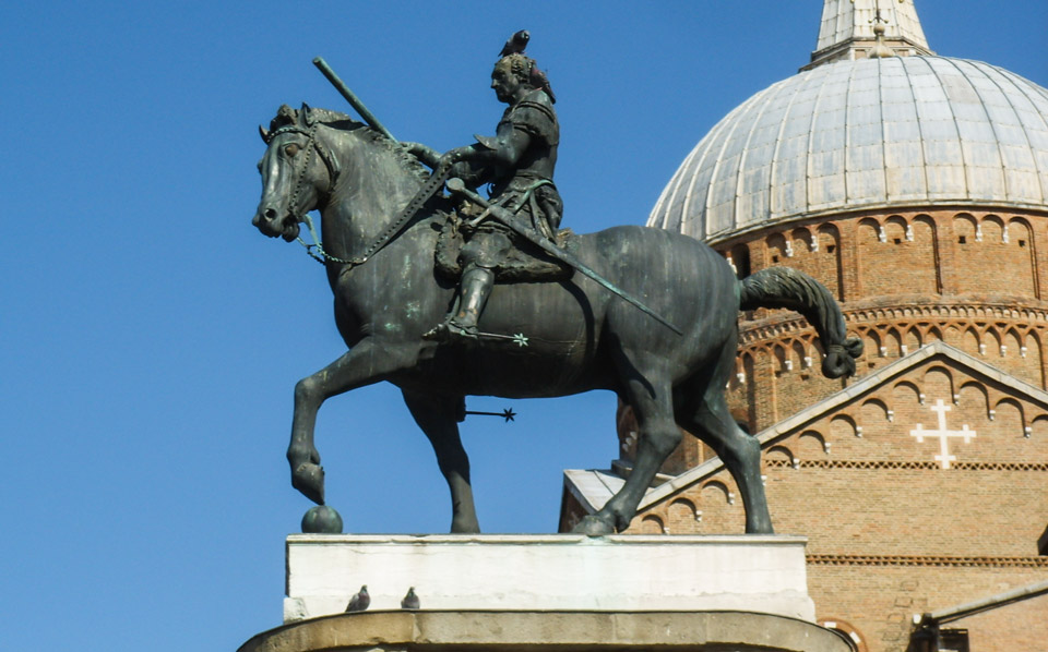 Донателло Конная статуя Гаттамелата