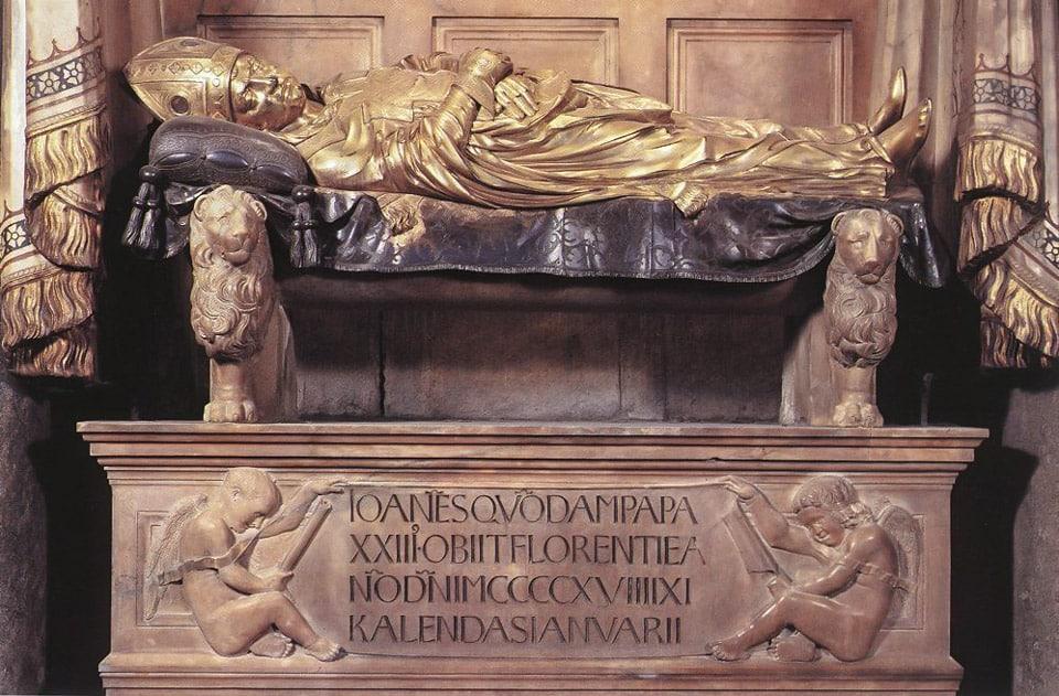 Донателло Гробница Иоанна XXIII