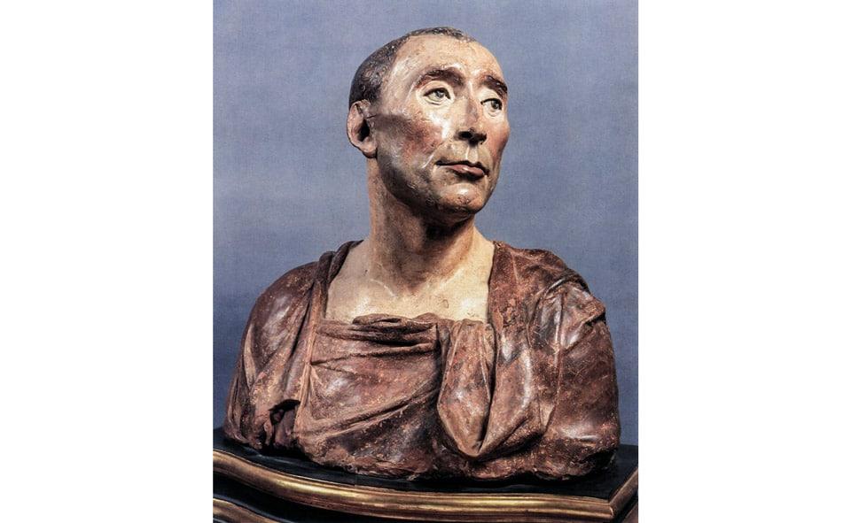 Первая скульптура Донателло бюст Никколо да Уццано