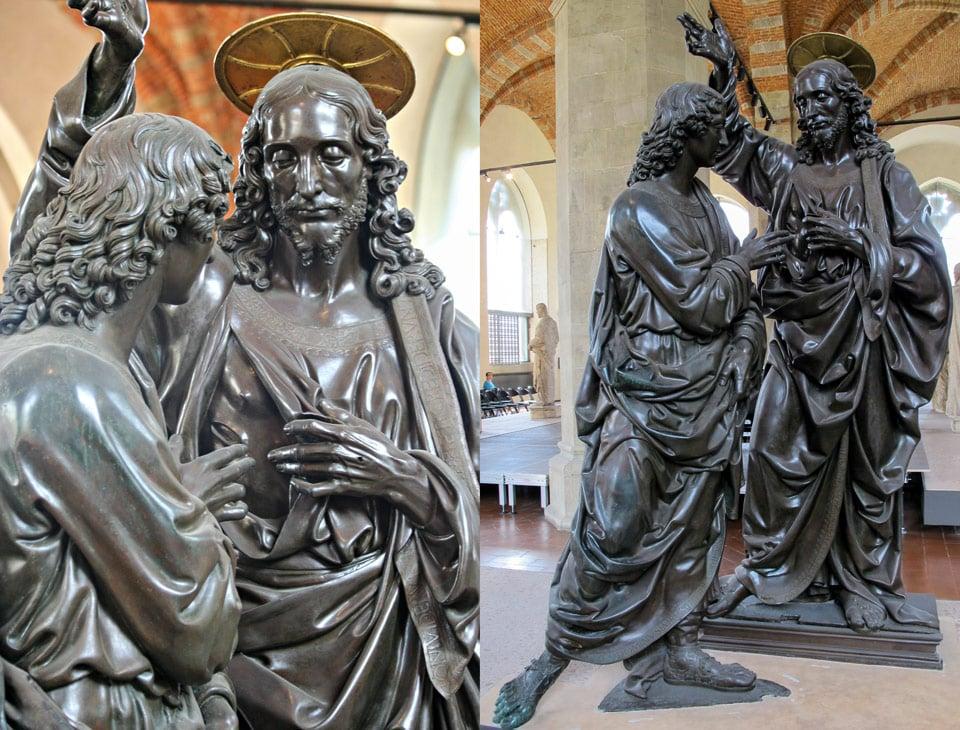 Скульптура Уверение Фомы