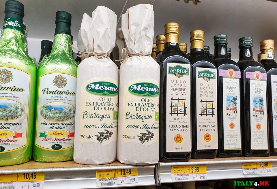 Литр оливкового масла стоит от 10 евро