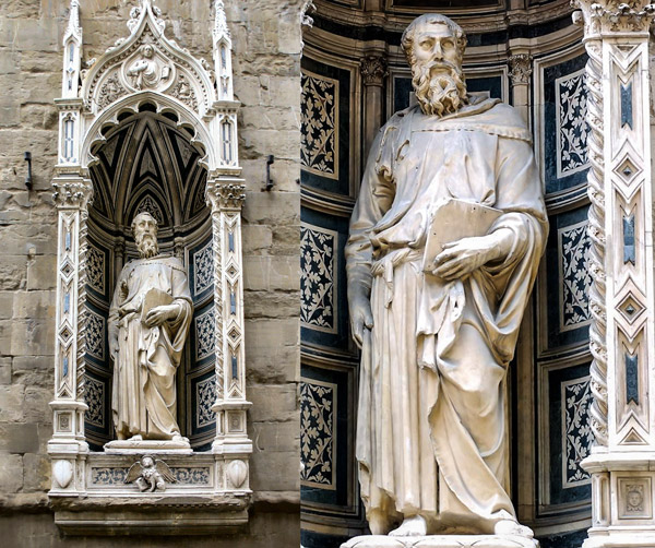 Статуя Евангелиста Марка автор Донателло