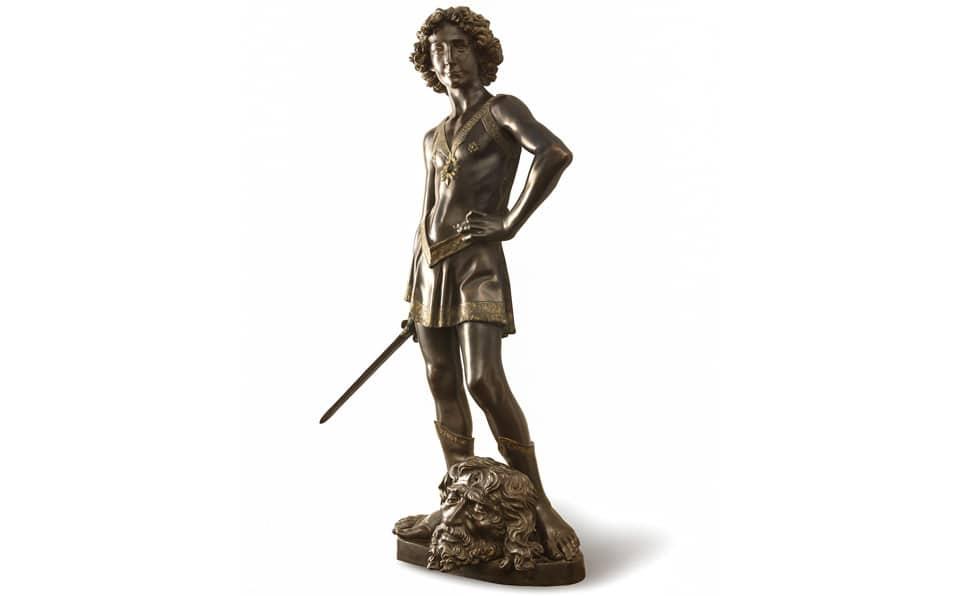 статуя Давида автор Андреа дель Вероккьо