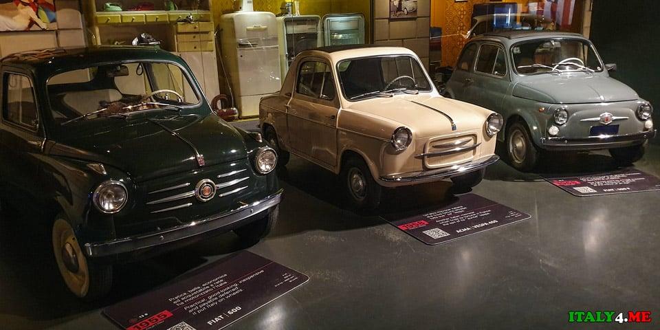 Массовые модели Fiat 500 и 600