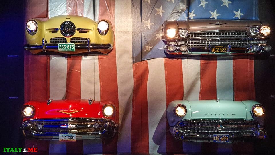 Американские автомобили в туринском музее
