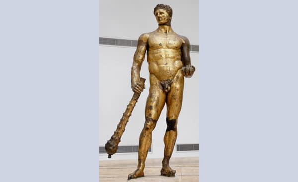 Скульптура Геркулеса с Бычьего форума