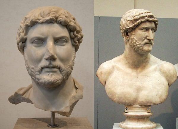 Статуя римского императора Адриана