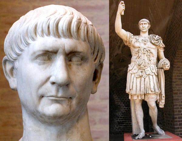 Статуя императора Траяна