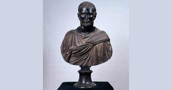 Бронзовая скульптура Капитолийский Брут