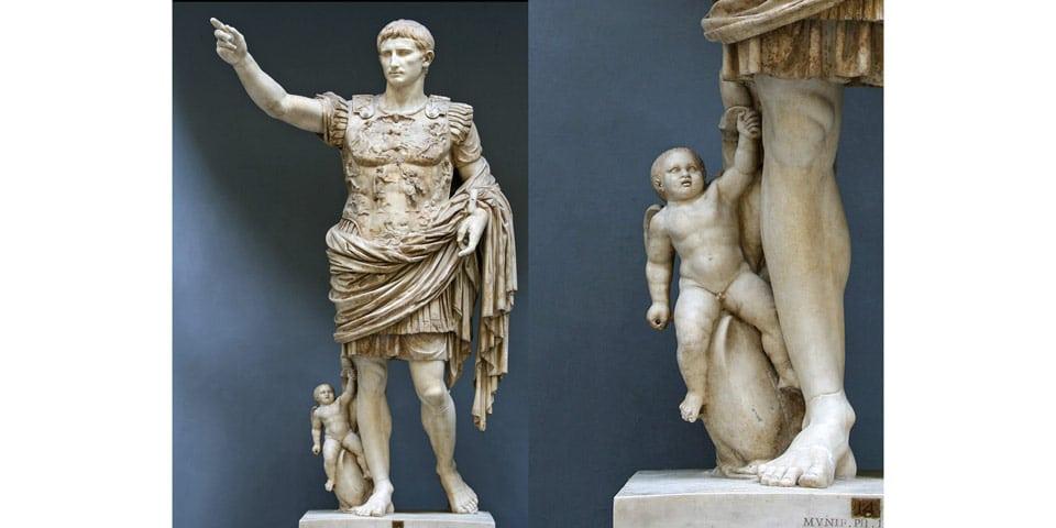 Статуя императора Августа у Прима Порта