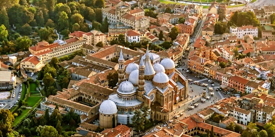 Город Падуя Италия