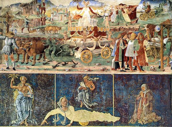 Фрески в Палаццо Скифанойя в Ферраре