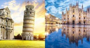 Как добраться из Милана в Пизу