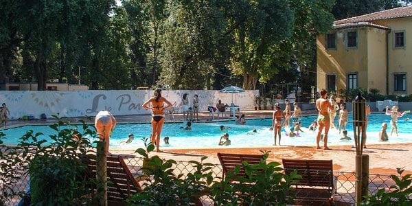 Парк Кашине бассейн для детей