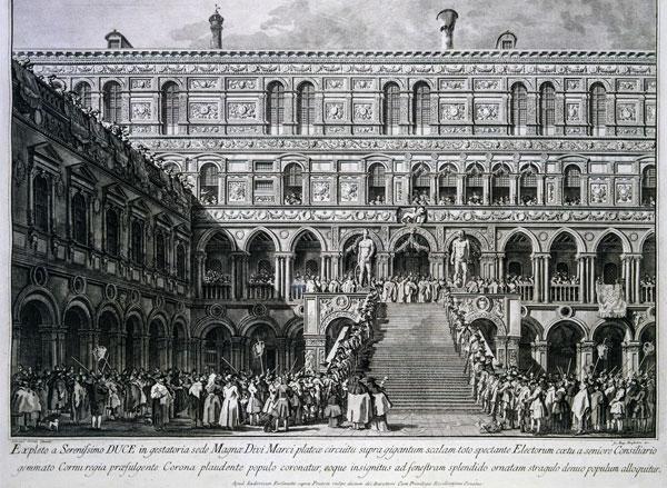 Лестница Гигантов в Дворце Дожей