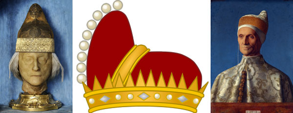 головной убор Венецианского Дожа Corno Ducale