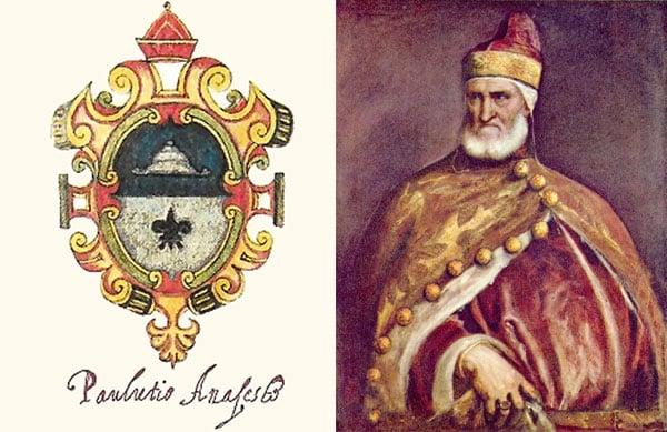 Паоло Лучио Анафесто – первый венецианский Дож