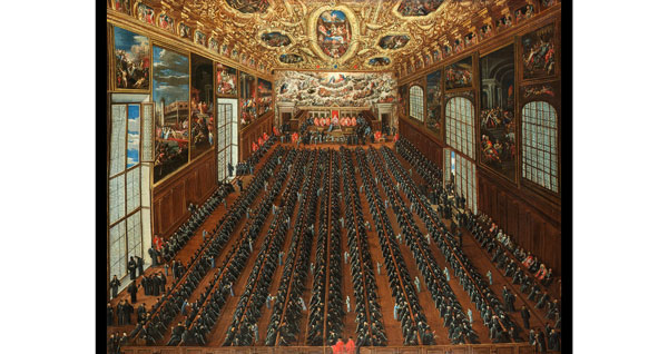 Большой Совет – главный правительственный орган Венецианской республики