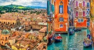 Как добраться из Болоньи в Венецию