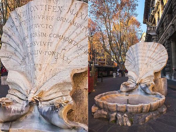 фонтан пчёл в Риме, Бернини выполнил по заказу Барберини