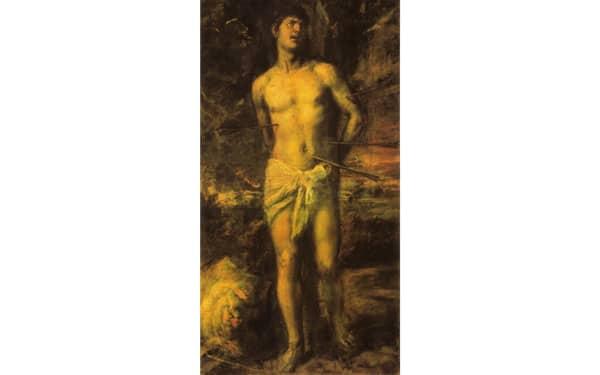 Святой Себастьян, картина Тициана Вечеллио