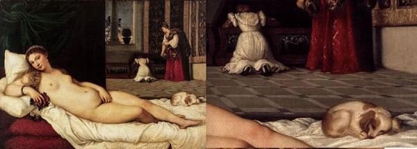 Венера Урбинская картина художника Тициана