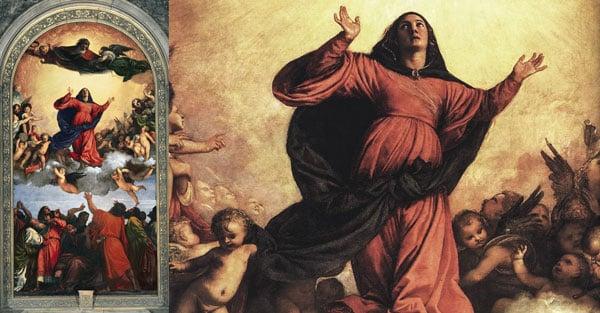 картина Успение Богородицы, Тициан Вечеллио