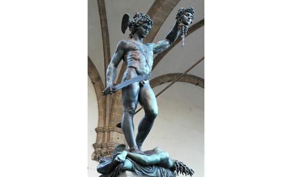 Скульптура Персея в Лоджии Ланци, Бенвенуто Челлини
